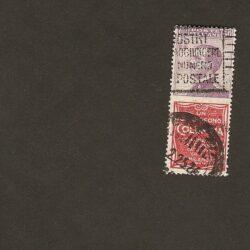 Regno d'Italia 1924 Re Vittorio Emanuele III – 50c. Columbia – usato