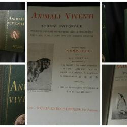 Animali viventi – Società Editrice Libraria Milano 1914 – 2 volumi