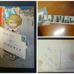 Cartolina Saluti da Firenze – Cartolina a taschina