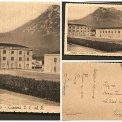 Cartolina Avellino Caserma
