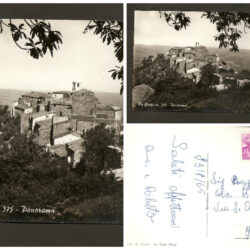 Cartolina La Sassa Panorama