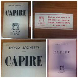 Enrico Sacchetti – Capire l'Arco Firenze 1947