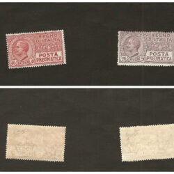 Regno d'Italia Posta Pneumatica 1925 (ottobre) Tipo del 1913-23