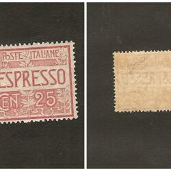 Regno d'Italia Espressi 1903 (1° giugno) Effige di Vittorio Emanuele III