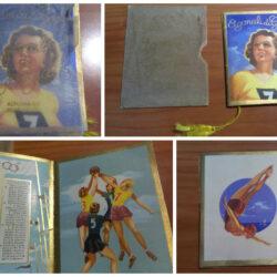 Agonali di Grazia – Almanacco profumato – Calendarietto- 1940