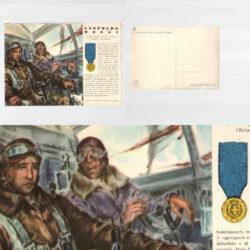Cartolina Medaglie d'oro N°14