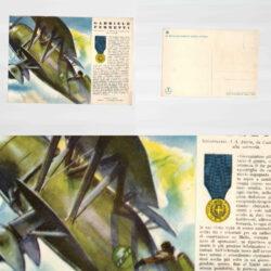 Cartolina Medaglie d'oro N°42