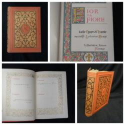 Fior da fiore dalle opere di Dante raccolte Lodovico Biagi – G. Barbera edit. Firenze