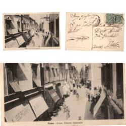 Cartolina Fano Corso Vittorio Emanuele