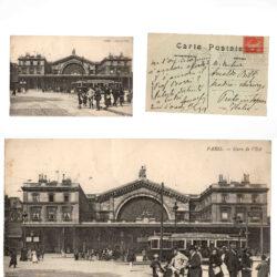 Cartolina Parigi Paris Gare de l'Est