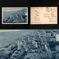 Cartolina S. Agata di Puglia Lato Ovest – 1949