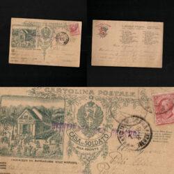 Cartolina Postale Casa del Soldato – Il Vessillo stellato