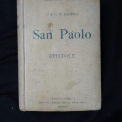 G.M. Zampini – San Paolo Epistole – Hoepli 1916