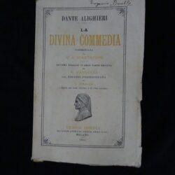 Dante Alighieri Divina Commedia commentata da G.A. Scartazzini – Hoepli Milano 1914