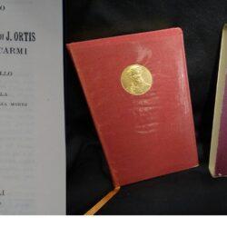 Ugo Foscolo Le ultime lettere di J. Ortis – Hoepli edizione minuscola.