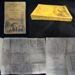 Censio e Fréjus di Enea Bignami con una lettera del Generale Menabrea – Barbera edit. Firenze 1871