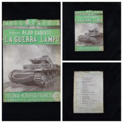 Aldo Cabiati La guerra lampo – Corbaccio editore Milano 1940