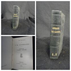 Tre racconti di F.D. Fruerrazzi – Firenze Le Monnier 1869