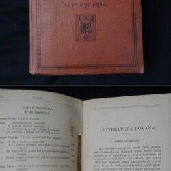 F. Ramorino – Letteratura romana – Settima edizione Hoepli 1907