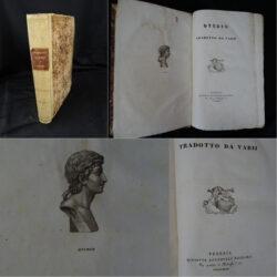 Ovidio tradotto da vari – Venezia Giuseppe Antonelli Editore 1843