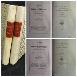 Il sacco di Prato e il ritorno de' Medici in Firenze nel MDXII – Bologna presso Gaetano Romagnoli 1880 – Vol.I-II