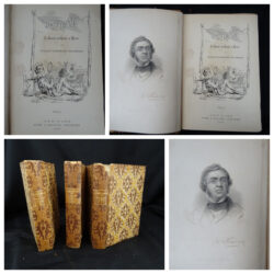 Vanity Fair – William Makepeace Thackeray – New York Harper & Brothers 1865 – Vol.1-3