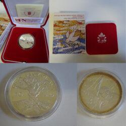 Moneta celebrativa Giornata Mondiale della Pace 2004