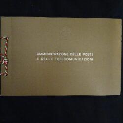 Italia 1980 Libretto Emissione Carte Valori Postali
