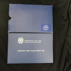 Italia 1983 Libretto Emissione Carte Valori Postali
