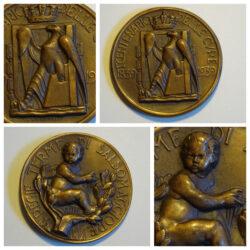 Medaglia commemorativa Centenario delle Cure 1839-1939