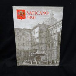 1990 VATICANO LIBRO FRANCOBOLLI – NUOVO TUTTE LE EMISSIONI // VATICAN OFFICIAL YEARBOOK NEW
