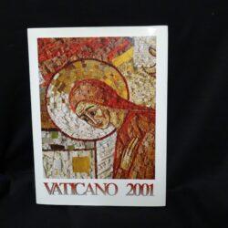 2001 VATICANO LIBRO FRANCOBOLLI – NUOVO TUTTE LE EMISSIONI // VATICAN OFFICIAL YEARBOOK NEW