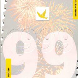 Francobolli Svizzera – Libro francobolli 1999 – Nuovo