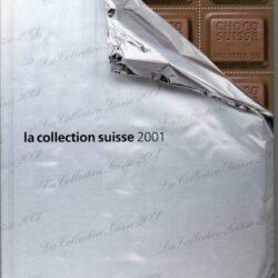 Francobolli Svizzera – Libro francobolli 2001 – Nuovo