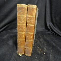 Memoires – Jacques Fauvel – Publie par J.Droz et L.B.Picard – Paris Renouard 1723 – 2 vol.