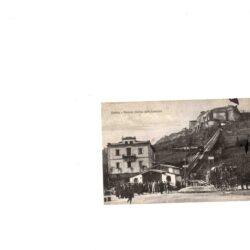 Cartolina Orvieto Stazione inferiore della Funicolare