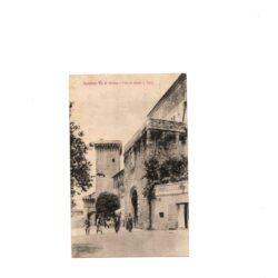 Cartolina Lucignano Val di Chiana – Porta S. Giusto e Torre