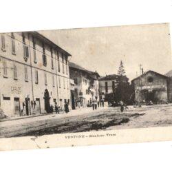 Cartolina Vestone Stazione Tram