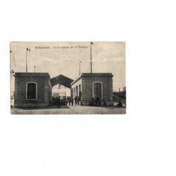Cartolina Civitavecchia – Pontile imbarco per la Sardegna