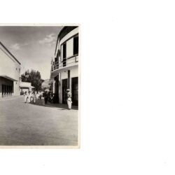 CARTOLINA EGEO OCCUPAZIONE ITALIANA I G.M. PORTO LAGO – VIA NAZIONALE