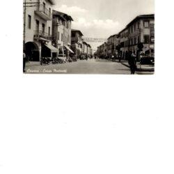 CARTOLINA CASCINA (PI) CORSO MATTEOTTI