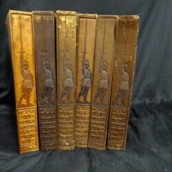 Vico Mantegazza Storia della Guerra mondiale Milano Istituto editoriale Italiano Milano 1915 – 6 volumi