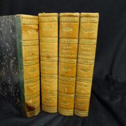 Commento al codice di procedura civile italiano – Francesco Ricci – Terza edizione Firenze Cammelli 1880 – 4 volumi