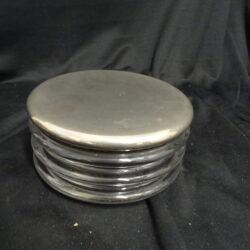 Arnolfo di Cambio – Contenitore porta caramelle silver plate argento placcato