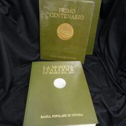 La moneta italiana un secolo dal 1870 – Primo centenario Banca Popolare di Novara