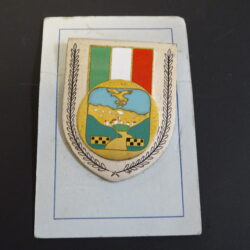 Spilla Panfilo di Gregorio Vice brigadiere, Medaglia d'Oro al Valore Militare, Corpo Forestale dello Stato, Cansano L'aquila