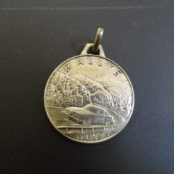 Medaglia Rallye – Uno a Erre – anni 70 ca. – argento 800 – auto