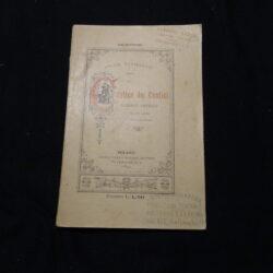 Felice Cavallotti – Il Cantico dei cantici scherzo poetico in un atto – Milano Carlo Barbini Editore 1892