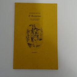 Maurizio Bettini – Il Bizantino con cinque disegni di Sirio Bamdini – Giardini 1981