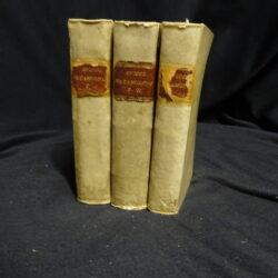 Le metamorfosi D'Ovidio ridotte da Giovanni Andrea dell'Angullara in ottava rima con le annotazioni di M. Giuseppe Orologgi…- Venezia 1797 Orlandelli Pezzana – Vol.1-3
